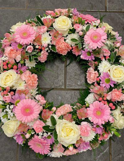 Pink & Cream Large Wreath